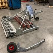 Dressage - mini - 1,5m - quad - afneembare wielen