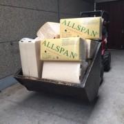 Rechte mestbak wordt voor allerlei transporten gebruikt