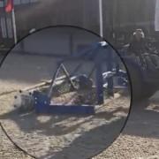 Profsleper met open rol op Sentowerpark